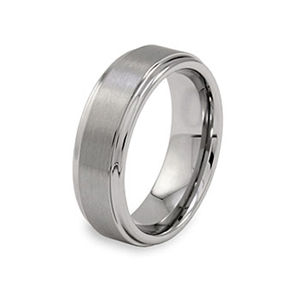 SSR0120-Stainless Steel Black Ring