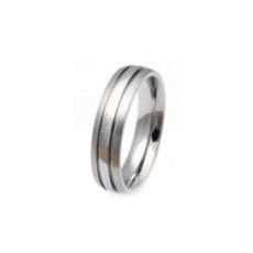 TIR0043-Popular Titanium Wedding Ring