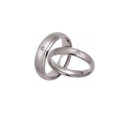 TIR0044-Popular Titanium Wedding Rings