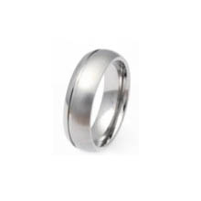 TIR0055-Cheap Polished Titanium Ring