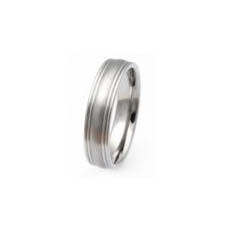 TIR0057-Faced Titanium Ring