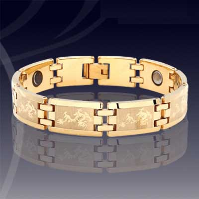 WCC0053-Tungsten Gold Wrist Chain