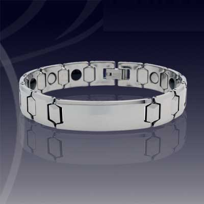 WCC0129-Popular Polished Tungsten Bracelet