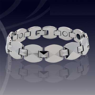 WCC0130-Popular Polished Tungsten Bracelets