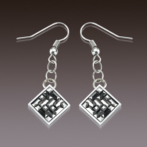 WCE0007-Popular Tungsten Carbide Earrings