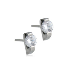 WCE0010-Tungsten Alloy Earrings