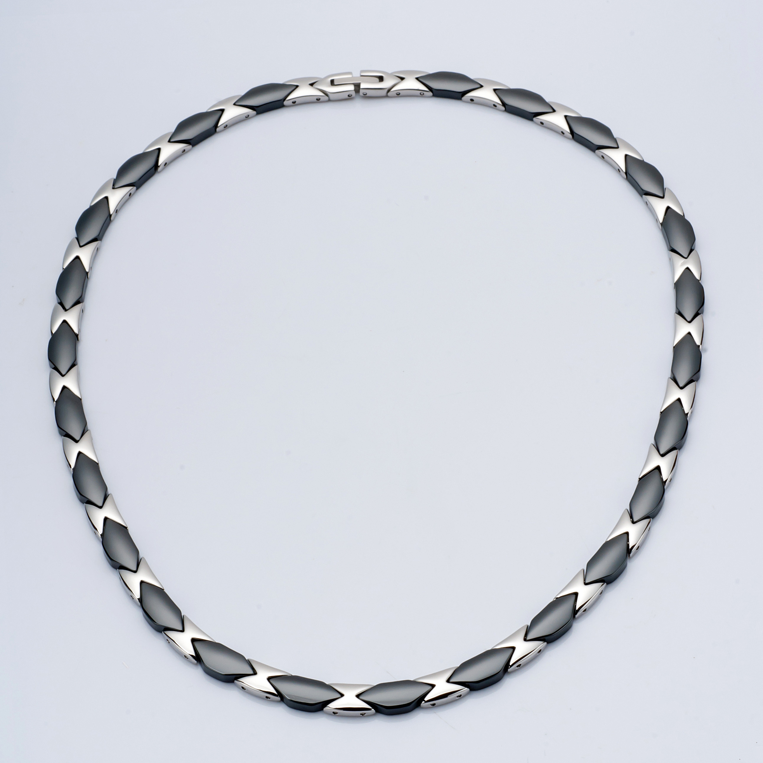 WCN0004-Polished Tungsten Alloy Necklace