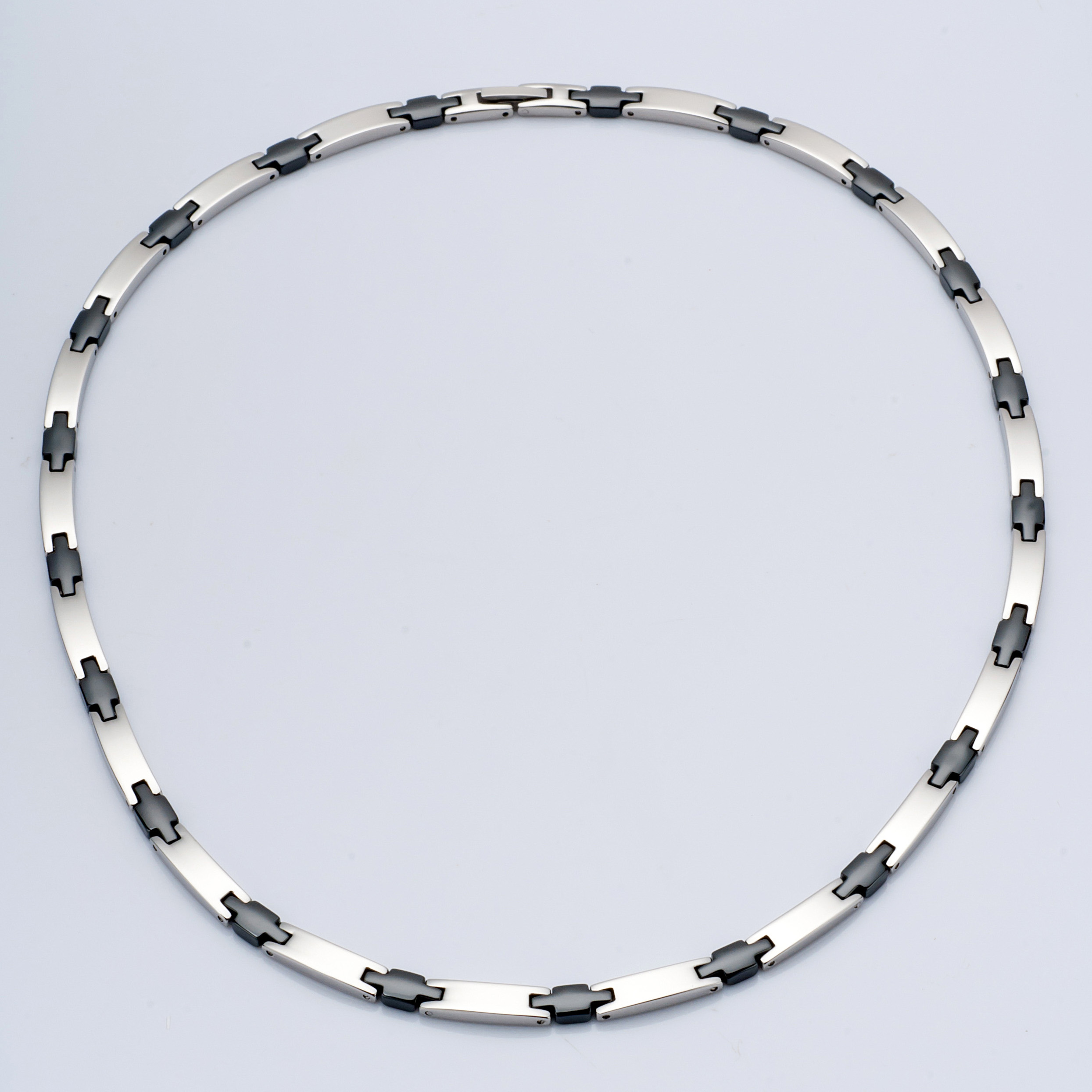 WCN0005-Polished Tungsten Alloy Necklaces