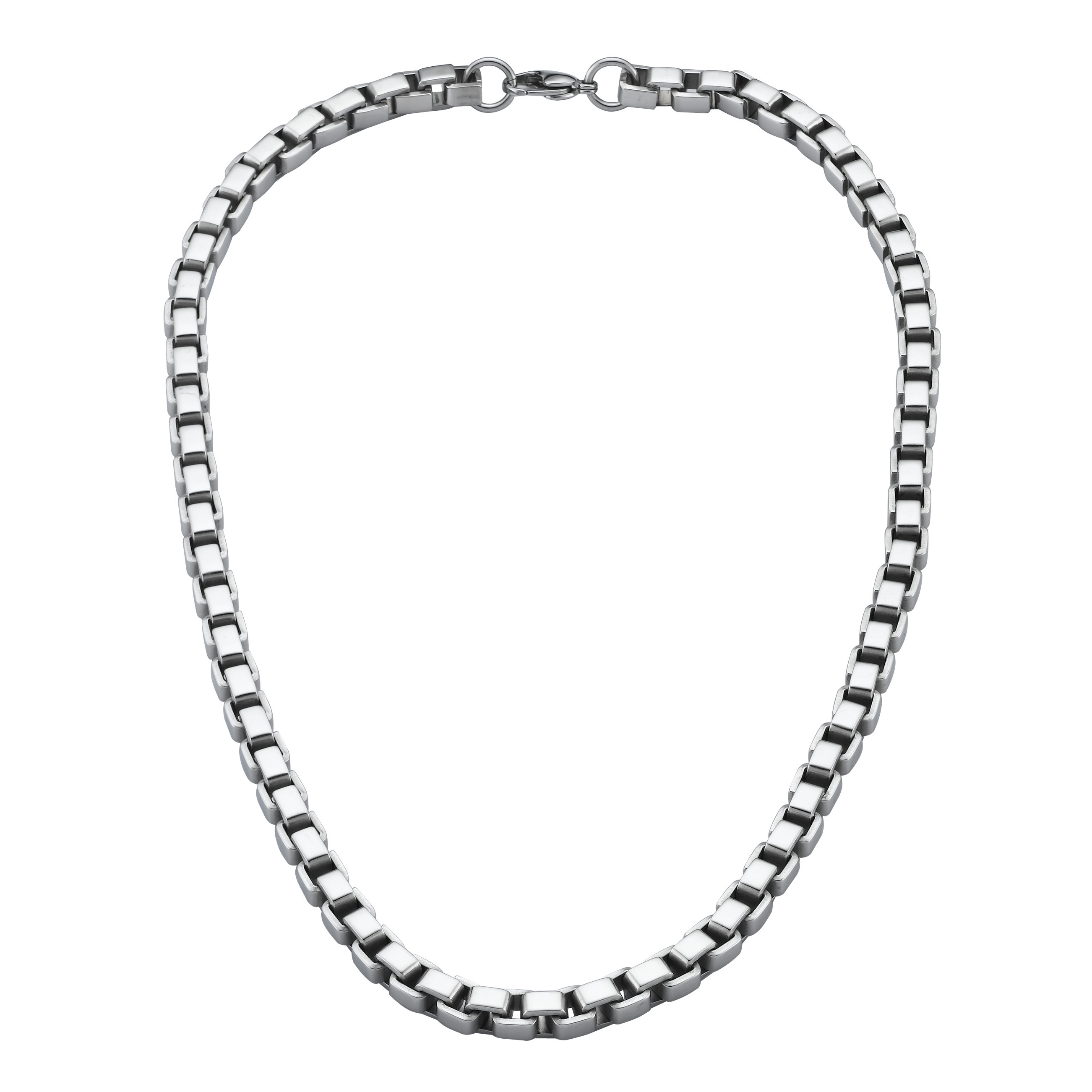 WCN0006-Polished Tungsten Carbide Necklaces