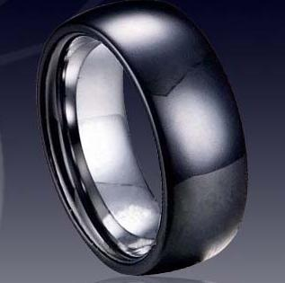 WCR0031-Black Tungsten Ring