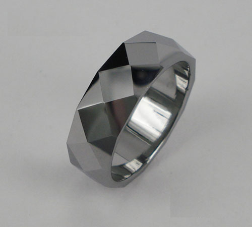 WCR0426-Polished Tungsten Wedding Bands