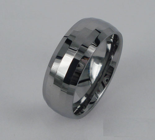 WCR0431-Polished Finished Tungsten Ring