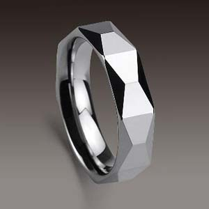 WCR0433-Cheap Polished Tungsten Ring