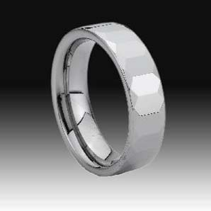 WCR0434-Cheap Polished Tungsten Rings