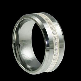 WDR0025-Tungsten Diamond Ring
